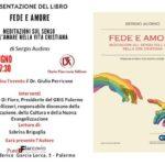 """""""Fede e Amore"""": al Punto Flaccovio la presentazione del libro di Sergio Audino"""