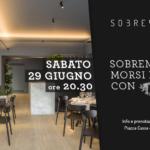 """""""Sobremesa, morsi e sorsi con Todaro"""": il 29 giugno ore 20.30 a Piazza Borsa"""