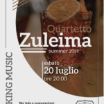 """Mak Mixology, il 20 luglio """"Quartetto Zuleima"""" in Galleria"""