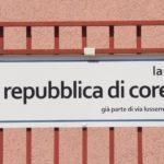 Una strada a Palermo intitolata alla Repubblica di Corea