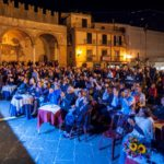 Il pubblico del Funghi Fest 2019 a piazza Margherita
