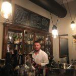 il barman Andrea Faraci