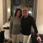 il proprietario di Acanto Salvo Andò, insieme alla moglie Rosaria Burzotta