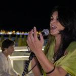 La voce della persiana Sanam Ighani a La Cuba per l'anniversario del Bab