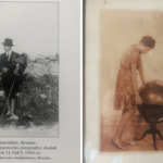 Filippo Cianciafara Tasca di Cutò e a destra Nicoletta Cianciafara, figlia di Filippo, che poi sposò Pasquale Mallandrino