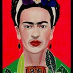 5_Enrico Cecotto_Frida Kahlo_acrilico e tecnica mista su tela_100 x 70 cm_2019
