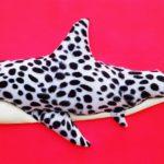 7_Enrico Cecotto_Pictus Shark_acrilico e tecnica mista su tela_40 x 80 cm_2019