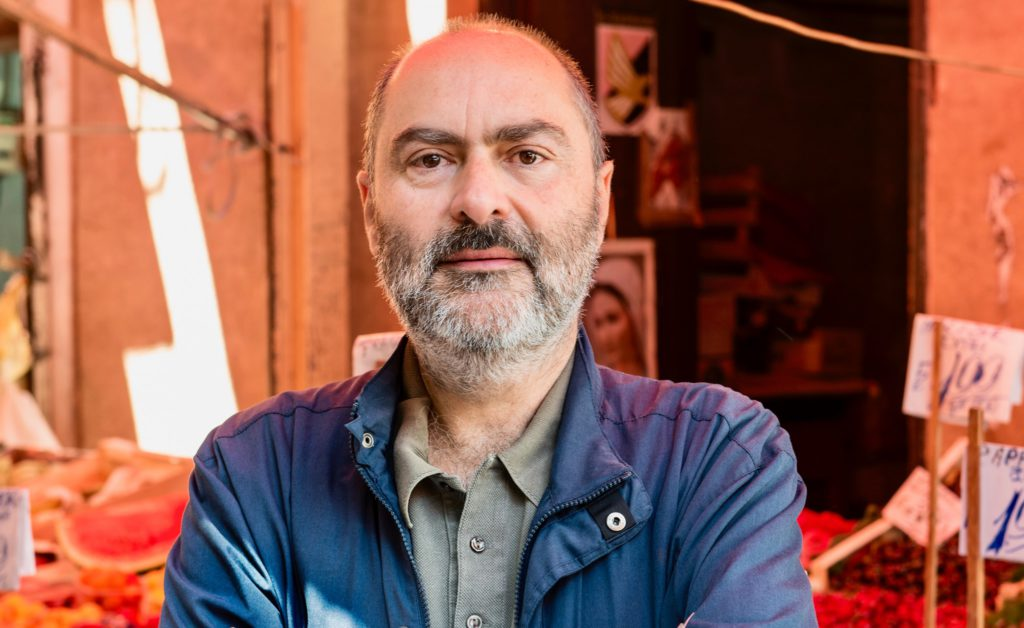 Il giornalista Giovanni Franco