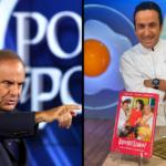 Lo chef Natale Giunta a Porta a Porta per portare in tavola l'unità di Italia