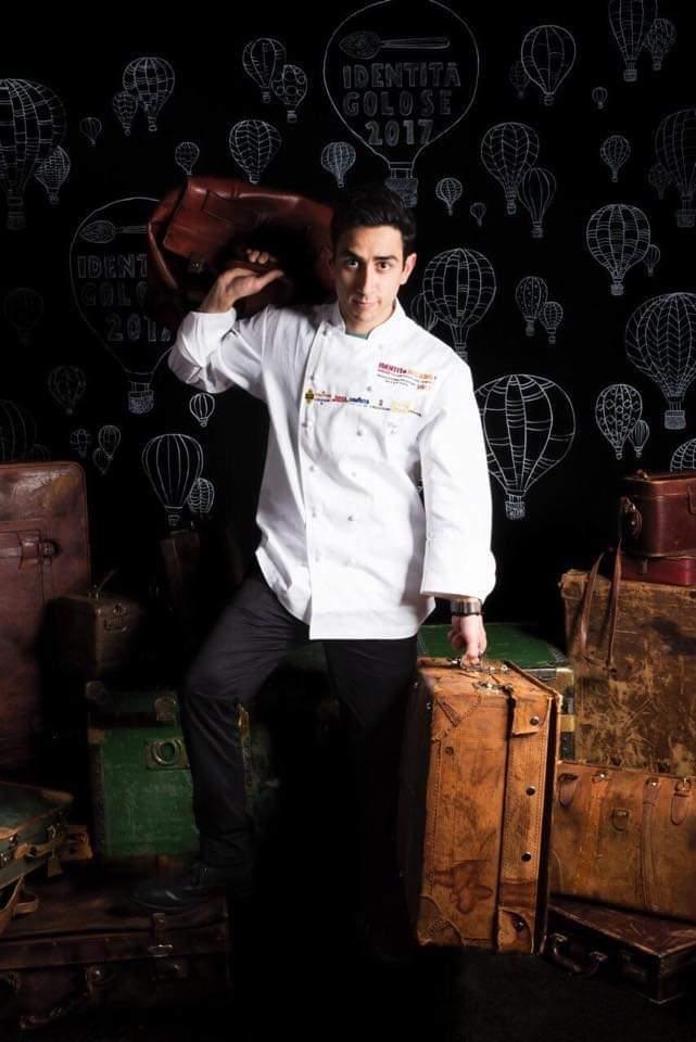 Lo chef de La Cage , Mario Peqini