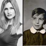 Licia Raimondi e Leoluca Orlando da piccolo