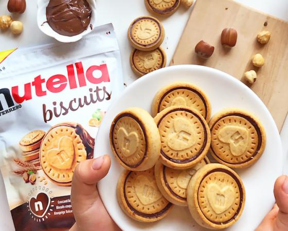 Gli originali Nutella biscuits