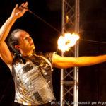 La fantasia degli elementi con lo spettacolo del fuoco per bambini il 4,5 e 6 gennaio