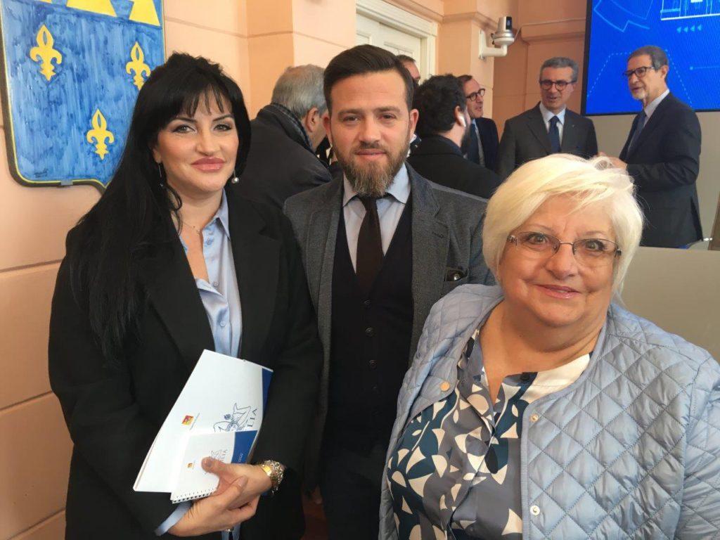 Sonia, Chicco e Mimma Alfano
